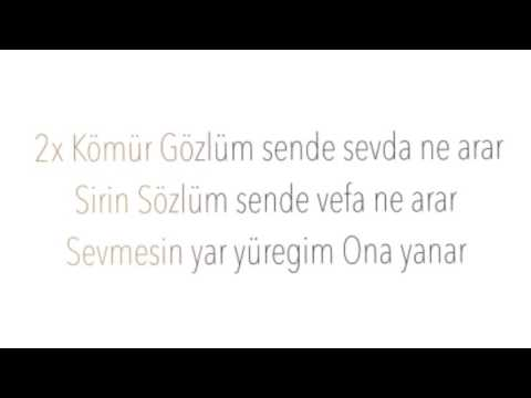 Arzu Sahin Kömür Gözlüm Karaoke