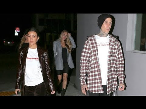 Kourtney Kardashian And Travis Barker Dine Together Amid ...