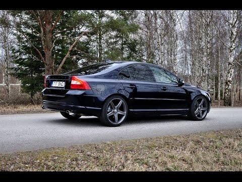 Volvo S80 V8 AWD custom exhaust - YouTube