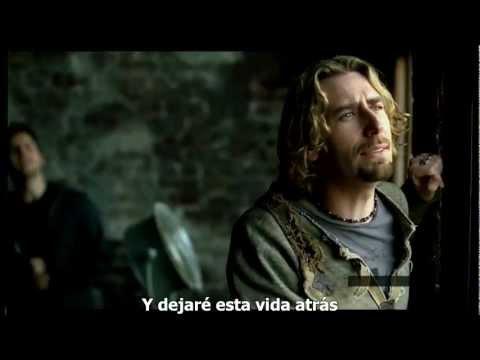 Nickelback - Savin' Me - subtitulado español  HD