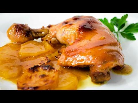 Receta de pollo a la mostaza peruano