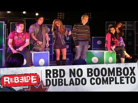 """RBD Show Em Estudio  No Boombox Completo Dublado """"Canal Boomerang"""""""