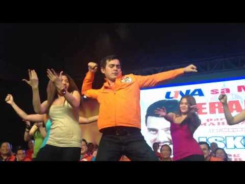 Isko Moreno's Cha-cha Dance