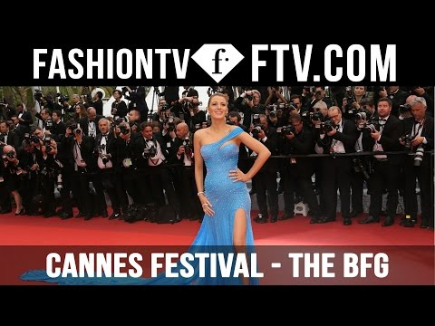 """Cannes Festival Day 4 Part 1 - """"The BFG"""" Red Carpet 