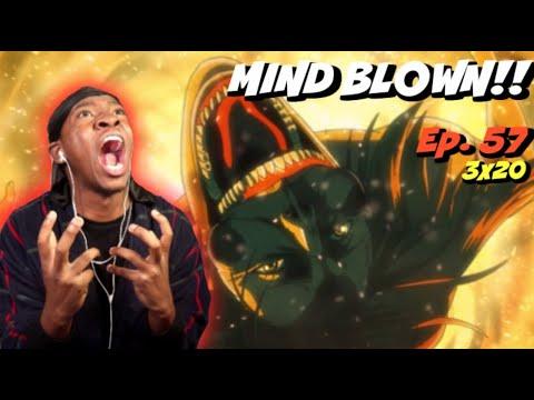 THIS BLEW MY MIND!! | Attack on Titan Season 3 Episode 20 | REACTION