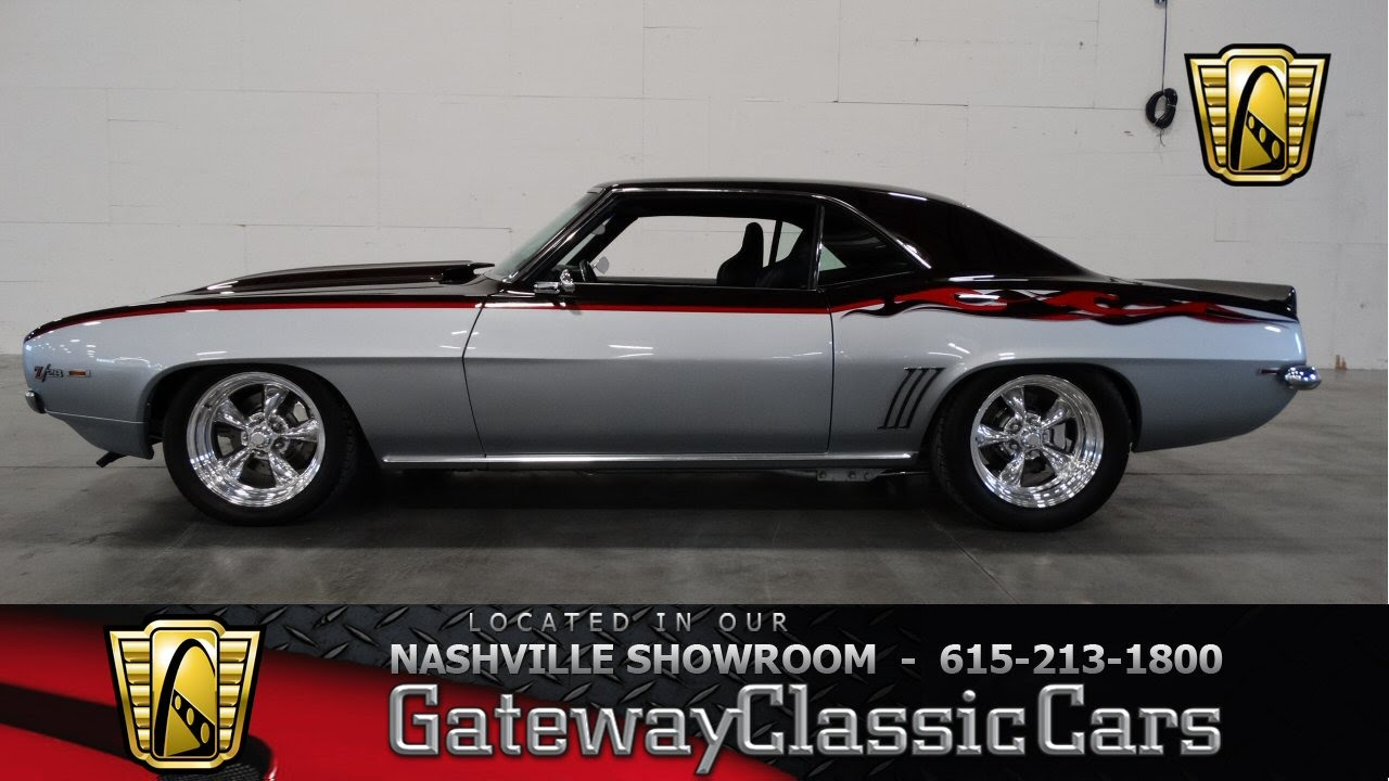 1969 Chevrolet Camaro Z 28 Tribute Gateway Classic Cars