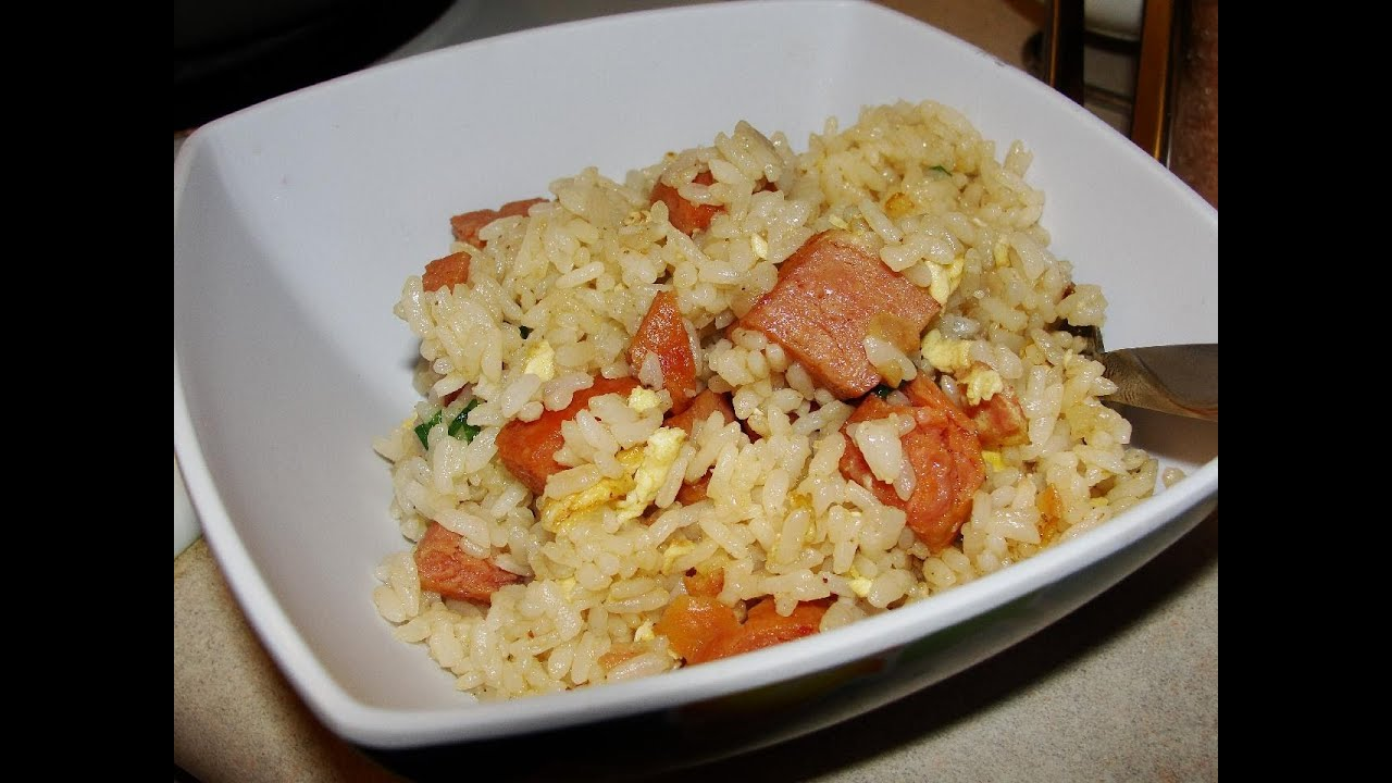 Spam fried rice youtube ccuart Gallery