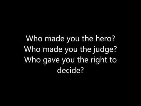 Clawfinger - Step Aside (Lyrics)