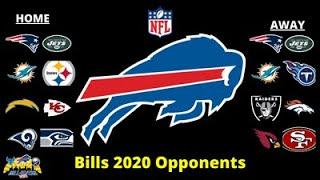 2020 Buffalo Bills Opponents