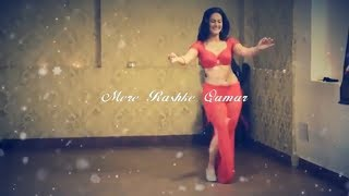 Belly Dance on Mere Rashke Qamar Song by Meher Malik Hot Dance