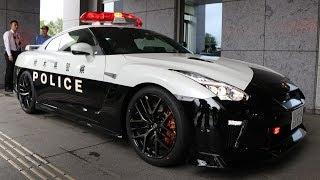 Nissan GT-R Japan Police Car Reveal