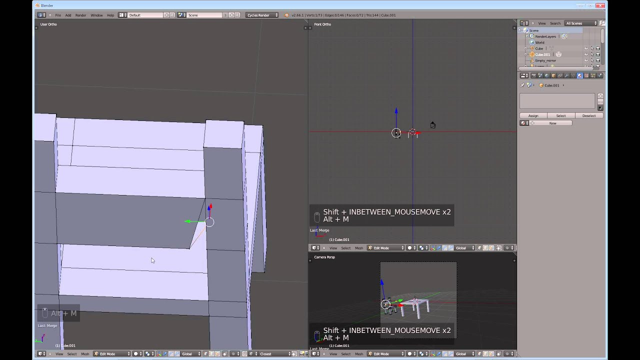 Blender for Noobs #9 - How to make a simple model - YouTube