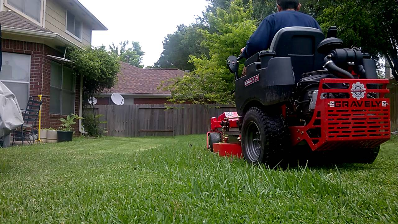 Gravely 34 Inch Commercial Zero Turn Demo Youtube Wiring Harness