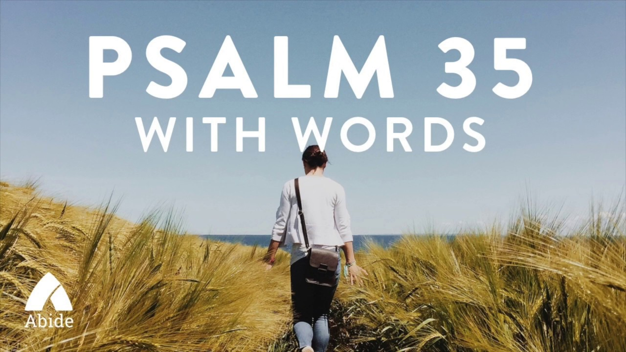 Psalm 35 - Prayer of Deliverance - King James Version (KJV) with words