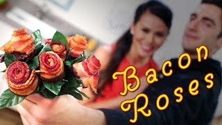 Chocolate Dipped Bacon Roses with FOODBEAST | Just Add Sugar