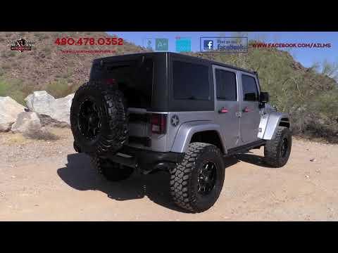 2018 Jeep Wrangler Unlimited Freedom Edition SUV - Luxury Motorsports (15302)
