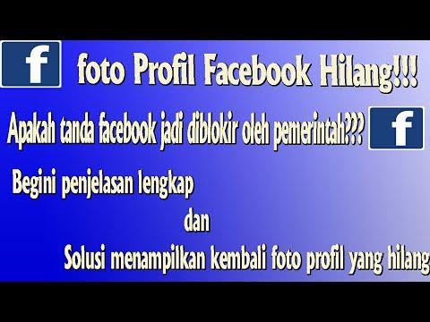 Penyebab dan Solusi Foto Profil Facebook Hilang