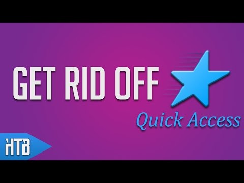 How to Bypass/Remove Quick Access