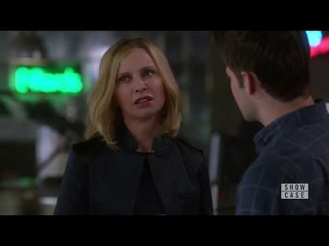 hilarious Calista Flockhart as Cat Grant in Supergirl