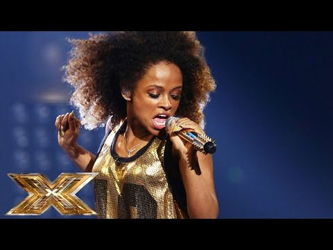 Fleur East sings Bruno Mars & Mark Ronson's Uptown Funk | The Final Results | The X Factor UK 2014