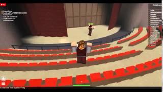 Roblox University Hidden Theatre