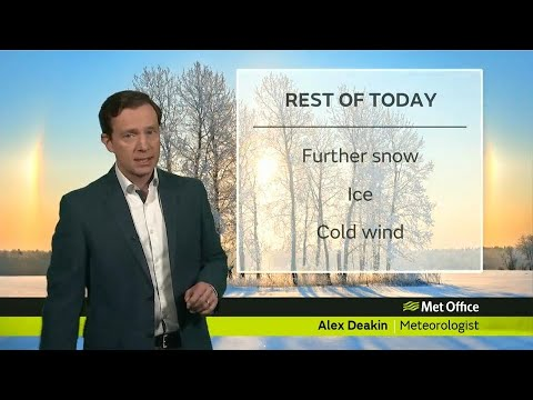 Friday afternoon forecast - 02/03/18