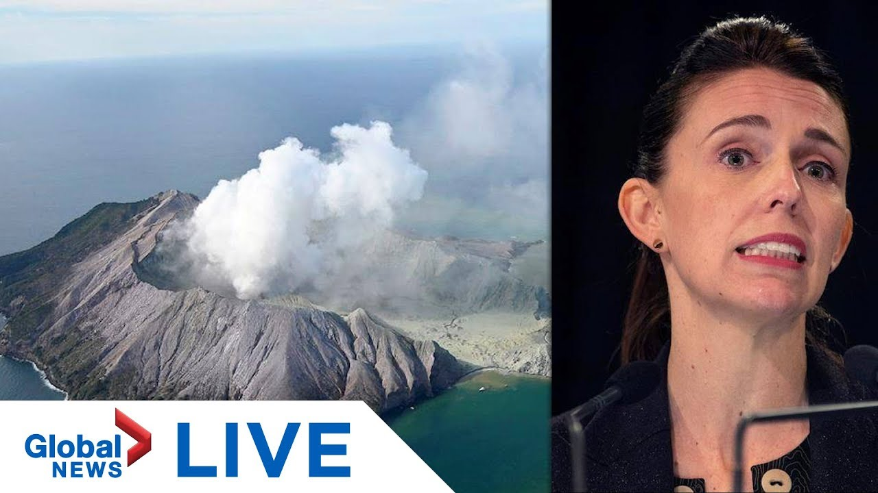 New Zealand PM speaks to media following volcanic eruption on White Island | LIVE