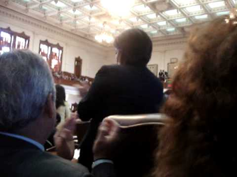 Swearing-in of Texas House of Representatives (District 77) 2009
