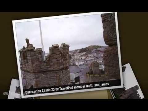 Caernarfon Castle - Caernarfon, Gwynedd, North Wales, Wales, United Kingdom