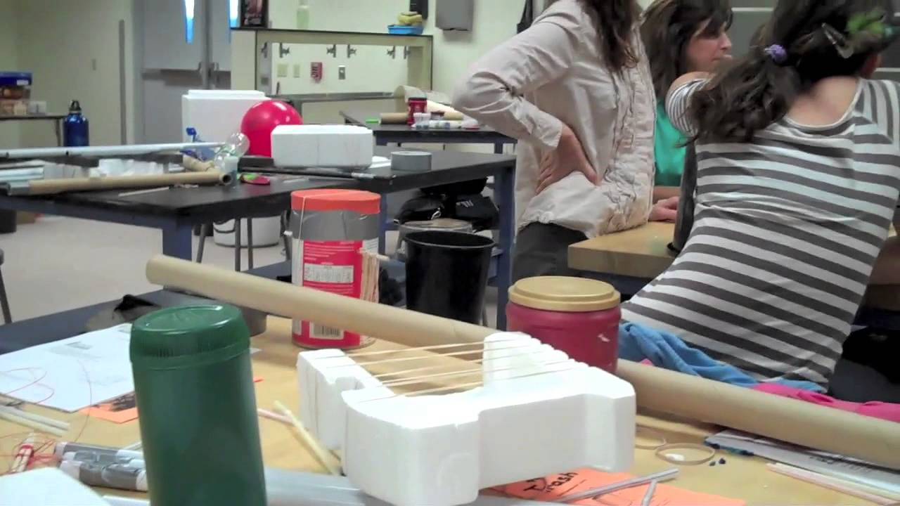 Building Musical Instruments From Recycled Materials A