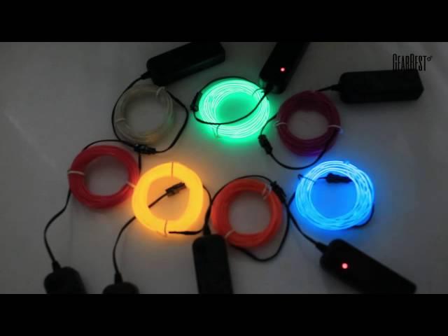 4M Flexible EL Wire -$3.64 Online Shopping| GearBest.com