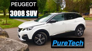 2017 Peugeot 3008 SUV 1.2 PureTech Review - Inside Lane