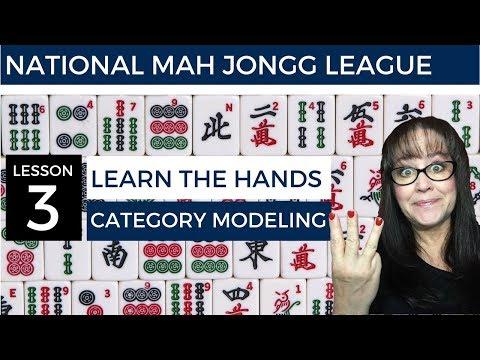 Clinic - NMJL/American Mahjong Lesson 3 Category Modeling V2
