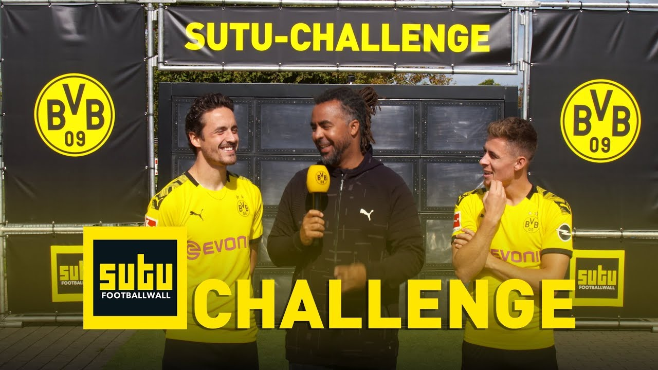 Die BVB-Sutu-Challenge | Thorgan Hazard & Thomas Delaney | Episode 4