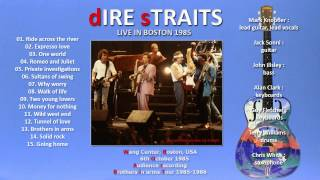 "Dire Straits ""Ride across the river"" 1985 Boston [AUDIO ONLY]"