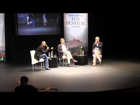 Hay festival Alonso Cueto y Sergio Ramírez