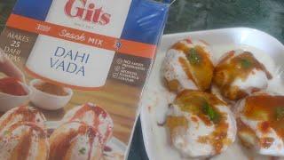 Instant Dahi Vada Mix - Gits Dahi Vada Instant Mix - dahi vada recipe