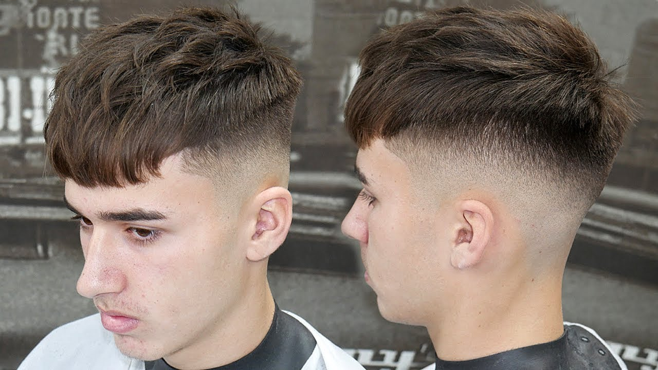 Simple Haircut Tutorial How To Do A Mid Skin Fade With A