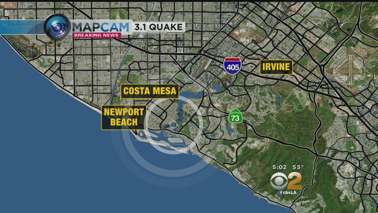Magnitude 3.5 earthquake rattles Yorba Linda area, USGS says