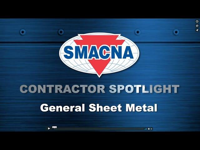 Contractor Spotlight General Sheet Metal Youtube