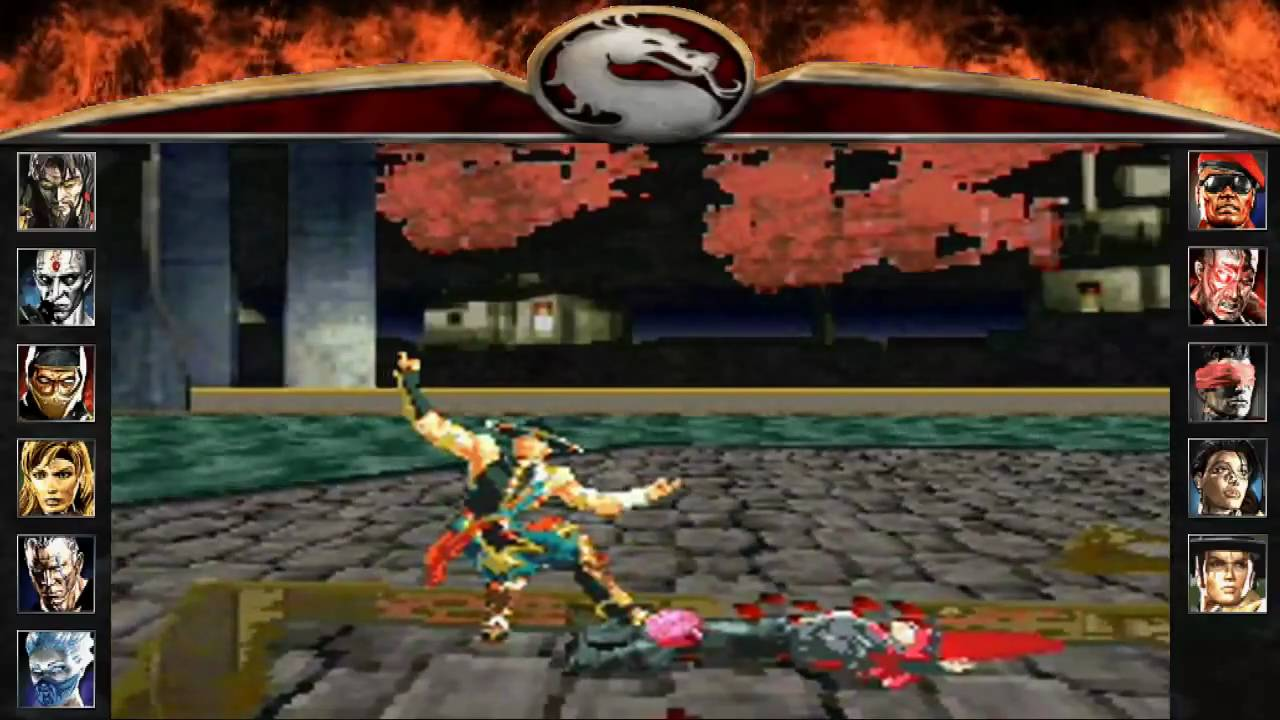 Mortal Kombat Deadly Alliance - Fatality Show [Gameboy Advance]
