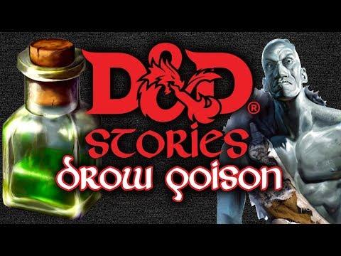 D&D Stories: Drow Poison