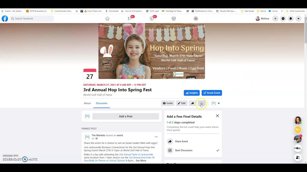 How to Add a Facebook Event to Your Facebook Business Page