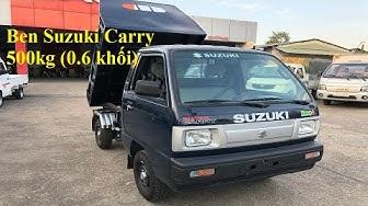 Ben Suzuki 500kg - xe ben nhỏ đi thành phố vào hẻm tốt - Giá xe ben Suzuki 500kg
