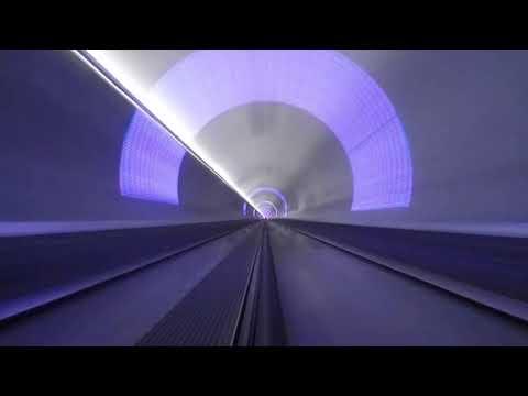 [10 Hours] Hyperloop 240 mph - Video & Audio [1080HD] SlowTV
