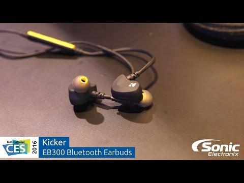 Kicker EB300 Bluetooth Earbuds | CES 2016