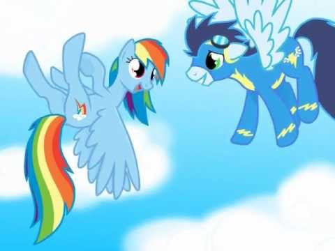 mlp you belong with me rainbow dash and soarin