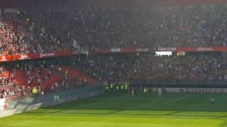Valenciennes - Lens, ambiance fin de match et clapping !!!