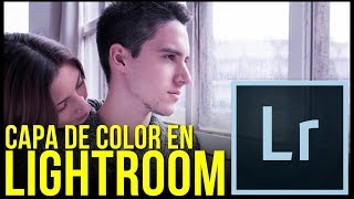 Cómo crear capa de color en Adobe Lightroom