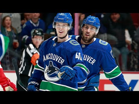 Elias Pettersson scores on redirection to tally in return from injury Mp3